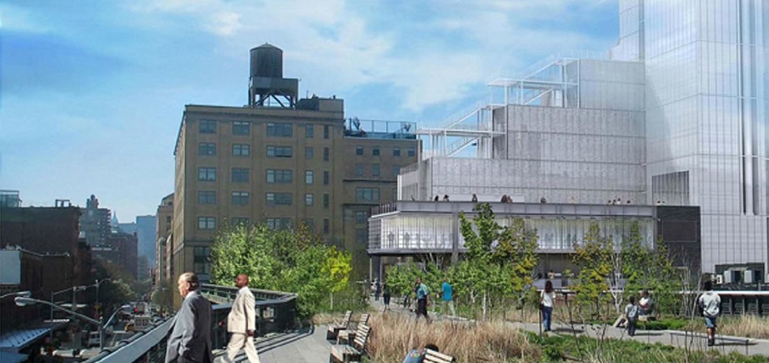 NYC DPR High Line Park Maintenance Building
