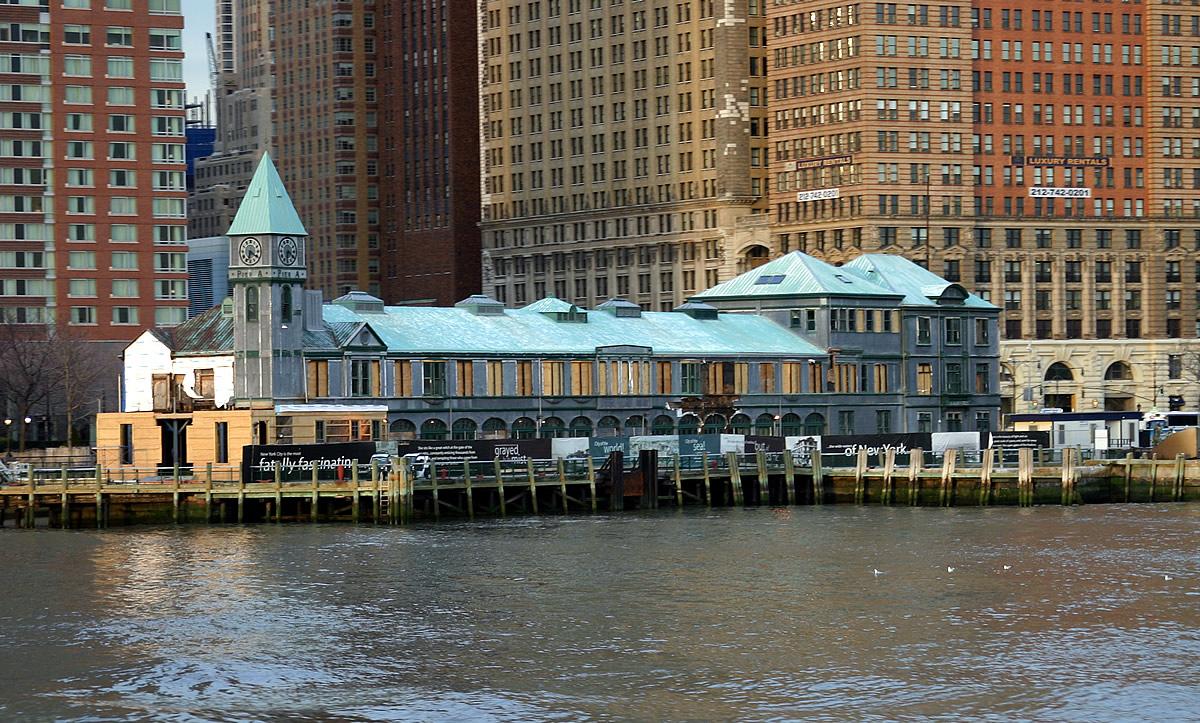 Battery Park City Pier A